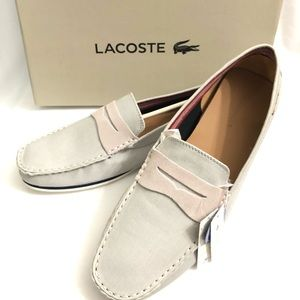 Lacoste Shoes - Lacoste Chanler 5 SRM Canvas Slip on shoes